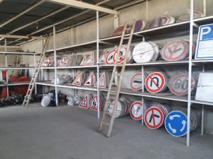 تولید تابلوهای ترافیکی